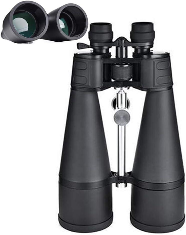 Zoom 30-260x Prismáticos de Alta Potencia Binoculares para Exteriores de Gran Tamaño para BAK4 Prism, FMC Green Film, Campo de Visión 180 Pies / 1000yds