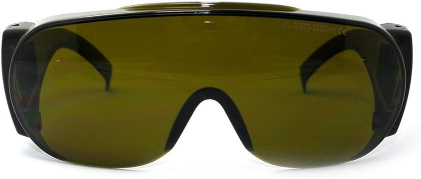 Q-BAIHE 200–2000NM Amplio Espectro Continua Absorción Gafas de Tóner para Uso en Impresoras Láser cosméticos