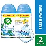 Air Wick Freshmatic Refills Automatic Spray, Fresh Waters, 6.17oz,2 count