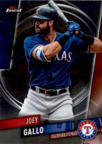 (2019 Finest #62 Joey Gallo Texas Rangers Baseball Card)