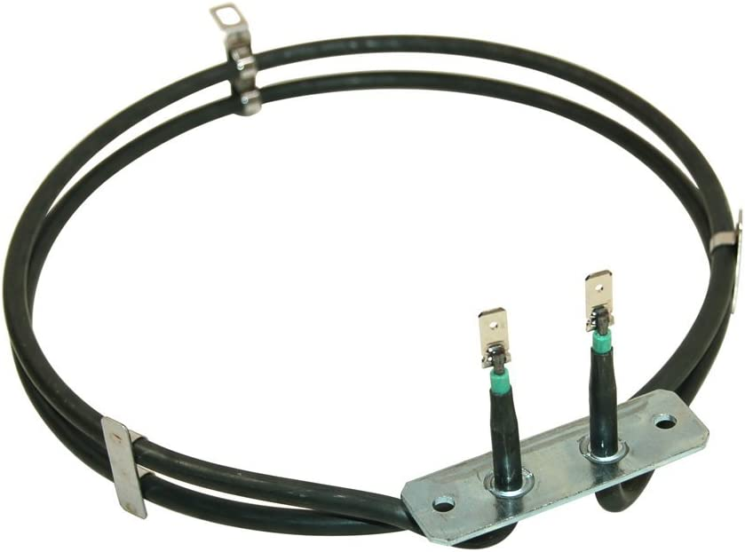 Qualtex AKZ451 Philips//Whirlpool//Indesit 2-Turn Fan Oven Element