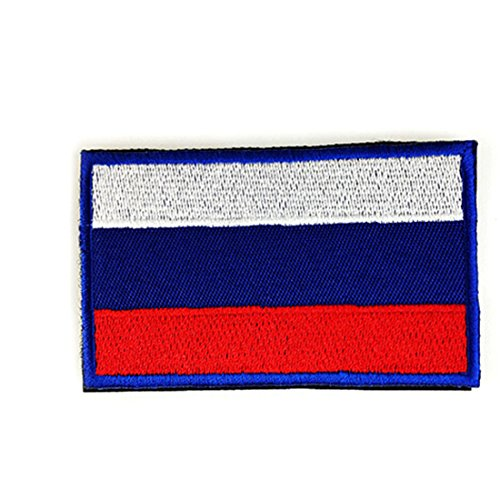 Chic National Flag Emblem Patch Armband Embroidered Patch Russia