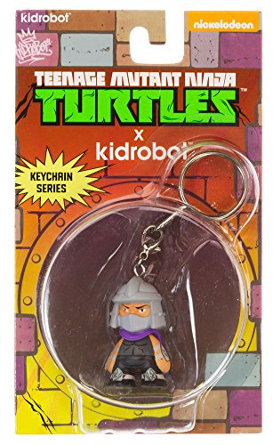 Kidrobot x Teenage Mutant Ninja Turtles Keychain Mini-Figure - Kidrobot Shredder