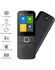 "Smart Language Translator Device, 2.4"" Touch Color Screen 137 Langauge Dialect Two-Way Instant Voice, Photographing Translation Real Time Translator Portable Office Electronic,for Learning Travel"
