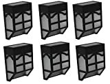 Bear Motion (TM) Solar Powered Color LED Light for Garden, Fence, Walkways Stairways, Path Pathway Lights - 6 Packs