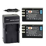 battery nikon d3000 - DSTE 2x EN-EL9 Battery + DC15 Travel and Car Charger Adapter for Nikon D40 D40X D60 D3000 D5000 Digital Camera as EN-EL9A