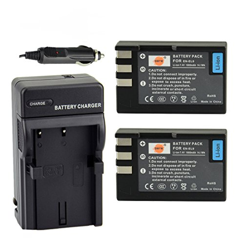 DSTE Battery Charger Adapter Digital