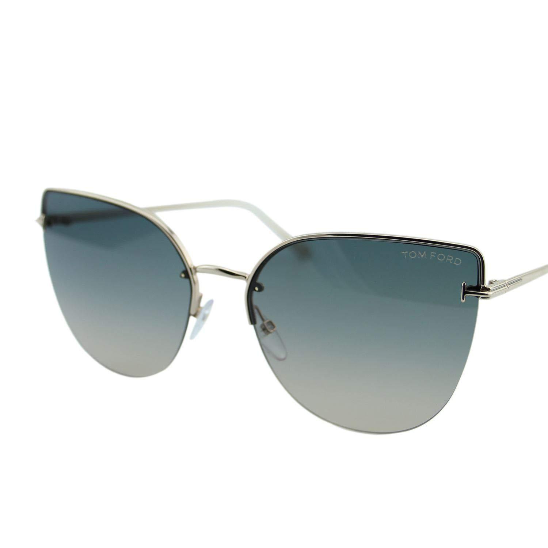 Gafas de Sol Tom Ford INGRID-02 FT 0652 ROSE GOLD/GREY BEIGE ...
