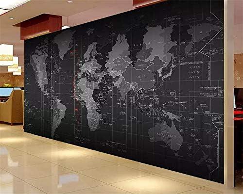 Papel pintado Wallpaper Mural Mapamundi Mural Muro de herramientas ...