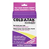 Webber Naturals Cold-A-Tak Blister Packed Softgel Capsules, 250mg
