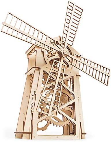[해외]Wood Trick Windmill Model Kit to Build - 3D Wooden Puzzle Assembly Model ECO Wooden Toy Best DIY Toy - STEM Toys for Boys and Girls / Wood Trick Windmill Model Kit to Build - 3D Wooden Puzzle, Assembly Model, ECO Wooden Toy, Best D...