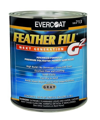 Evercoat 713 Gray Feather Fill G2 Primer - 1 Gallon by Evercoat
