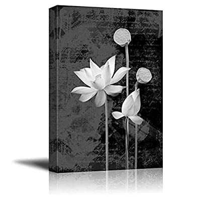 Portrait of Flowers with a Vintage Background, That's 100% USA Made, Astonishing Handicraft