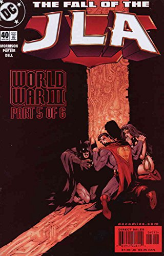 - JLA #40 VF ; DC comic book