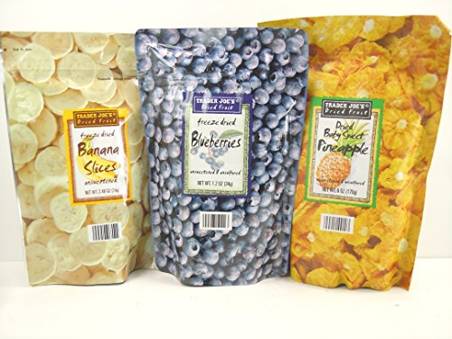 Trader Joes Dried Freeze Variety