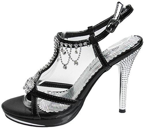 Negro Zapato 42 nbsp;Fiesta marvelous delicacy Womens X1q8TT