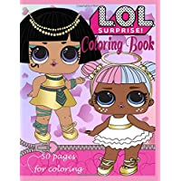 L.O.L. Surprise! Coloring book: 50 pages for coloring! The GOLD Collection!