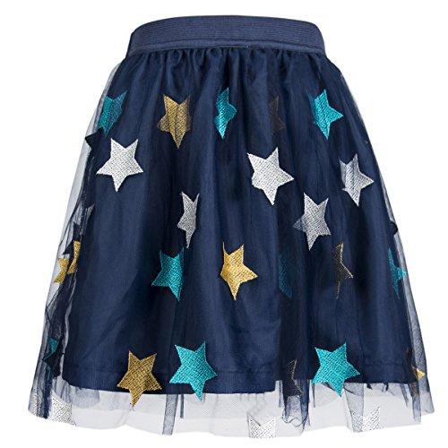 Benito & Benita Girls Tutu Skirts Tulle Princess Dress Fluffy Ballet Skirt Layered Bubble Skirt