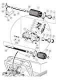 Ball Joint Kit,Set of (3) Tie Rod End with Grease