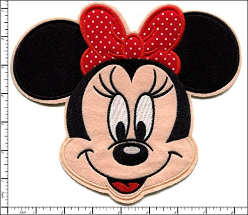 big minnie mouse iron on patches - 1