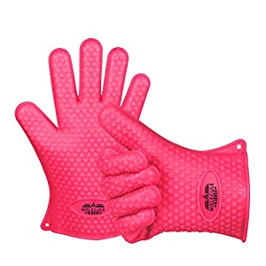 Molecule Gloves High Quality Kitchen Gloves-Heat Resistant Grilling BBQ-New Protective Oven- Grill, Baking, Smoking and Cooking Gloves