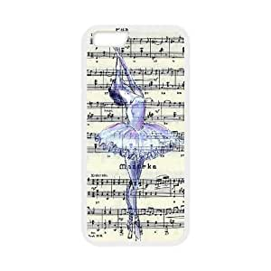 "Unique Hard Back Case for iPhone 6 plus 5.5"" w/ Ballet image at Hmh-xase (style 13)"