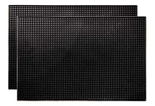 Black Bar Mat - Bar Mat by YouTensils, 18