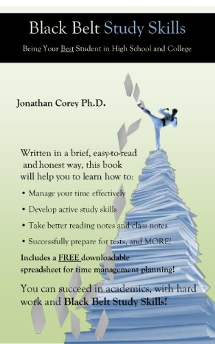 Amazon Com Black Belt Study Skills Ebook Jonathan Corey Kindle Store