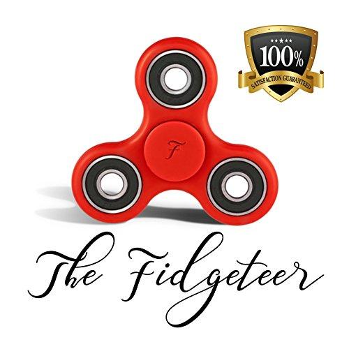 Fidgeteer Fidget Spinner EDC Toy   Anxiety and Str…