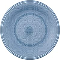 Teller Kuchenteller Tortenteller Rainbow Blau D 18,5 cm Hochwertiges Glas