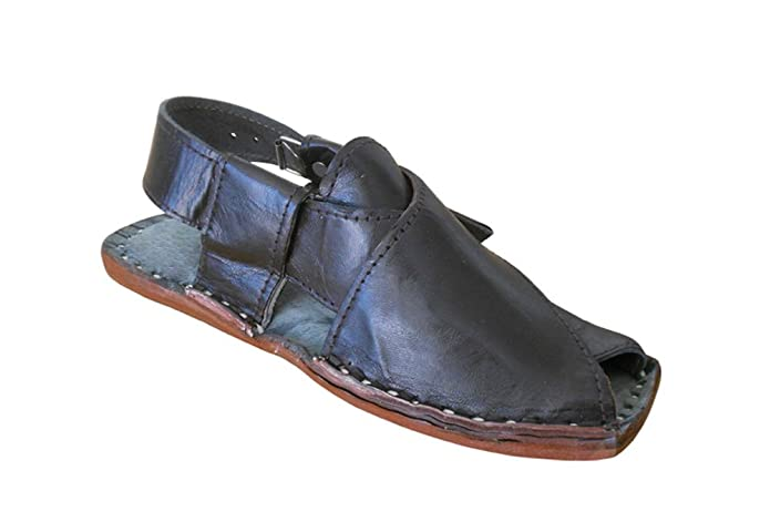 kalra Creations Hombre tradicional Mocasines Piel de indio Sandalias, color Marrón, talla 41.5 EU: Amazon.es: Zapatos y complementos