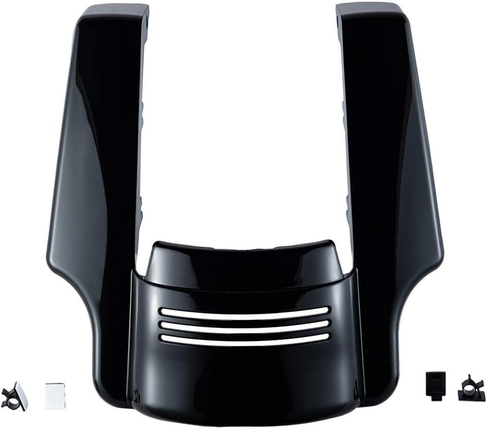 Denim Black Stretched Rear Fender Extension For 14-19 Harley FLHR FLHXS FLTRX