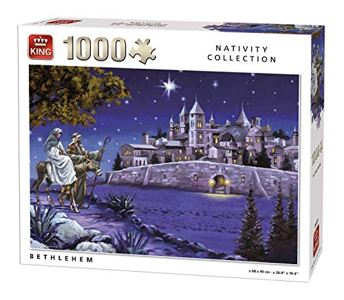 King Bethlehem Jigsaw Puzzle (1000 Pieces)