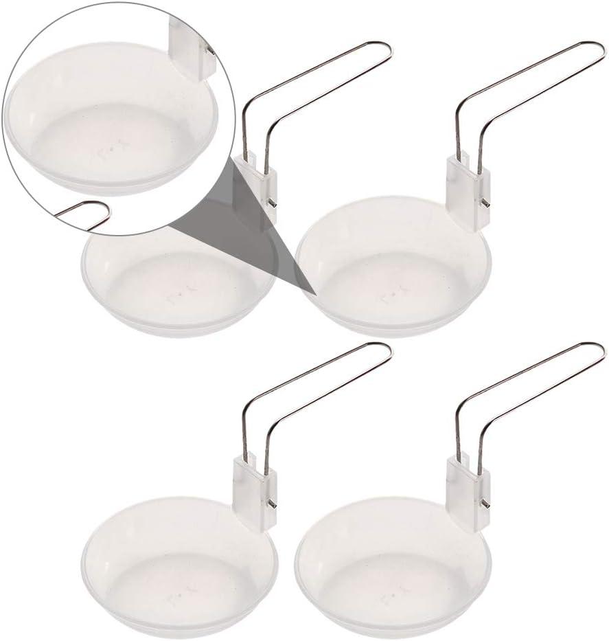 ABOOFAN 4 PCS plegable sopa cuchar/ón pl/ástico utensilios de cocina al aire libre cocina cuchara cuchara