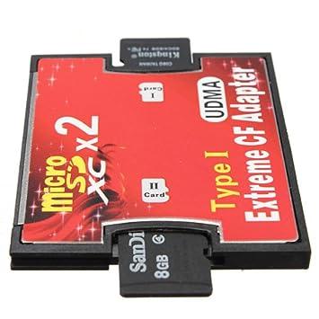 LeHang SDXC SDHC SD 3.0 Karte zu UDMA CF HighSpeed Adapter f/ür Canon Nikon Kamera