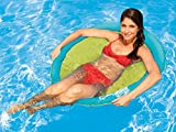 SwimWays Spring Float Papasan - Light Blue/Green
