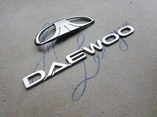 99-03-daewoo-trunk-emblem-logo-nameplate-decal-script-sticker-ornaments-set