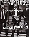 img - for DEPARTURES September 2007 Magazine THE STYLE ISSUE: MILAN FOR MEN Bold Jewels HOLLYWOOD COOL Japanese Mod NEW PHOTOGRAPHY BOOK ON 20+ YEARS OF FRANK SINATRA'S CAREER Barnaby Barford book / textbook / text book