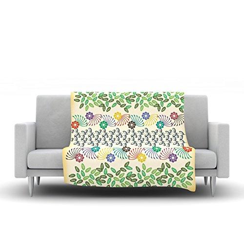 51 X 60 Kess InHouse Fernanda Sternieri Barroque in Love White Pink Wall Tapestry