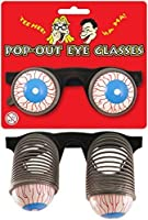 1 x Pop Out Eyes Novelty Glasses