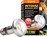 heat lamp 25 watt - Exo Terra Sun Glo Basking Spot Lamp Tight Beam, 25-Watt