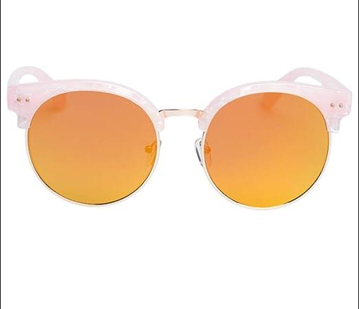 Gafas De Sol Mujer Ronda Cara Elegantes Gafas De Sol Hombres ...
