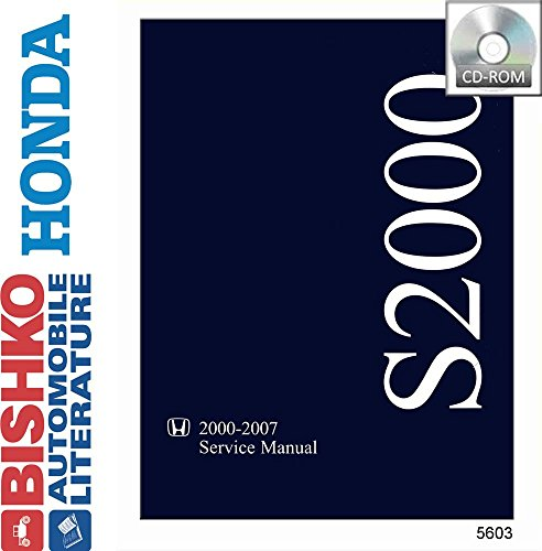 2000 2001 2002 2003 Honda S2000 Shop Service Repair Manual CD Engine Wiring OEM