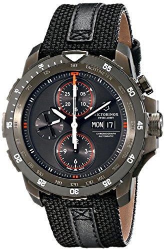 Victorinox-Mens-241530-Alpnach-Analog-Display-Swiss-Automatic-Black-Watch
