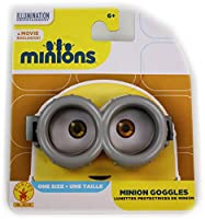 Official Minion Movie Exclusive Basic Goggles - One Size (Adjustable)