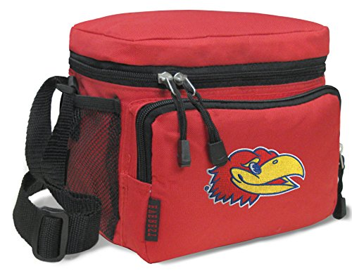 Broad Bay KU Jayhawks Lunch Bags NCAA University of Kansas Lunch Boxes by Broad Bay