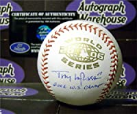 Tony LaRussa autographed World Series Baseball (St Louis Cardinals Manager) inscribed 2006 WS Champs AW Certificate of Authenticity Hologram