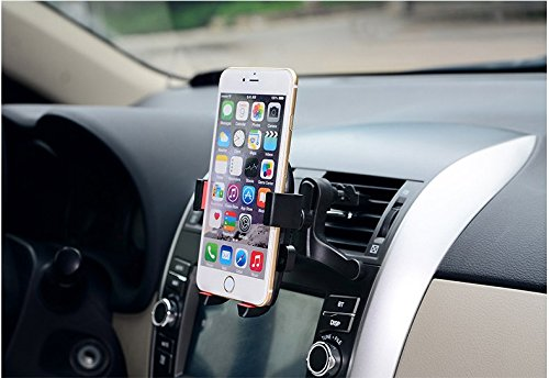 Mobile Holder Car Air Vent Mount Phone Bracket Vehicle Air O