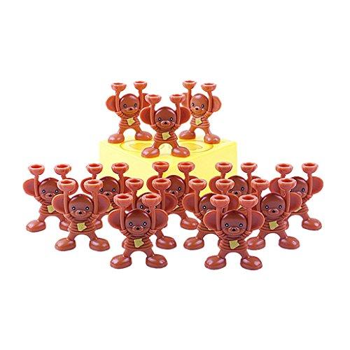 【ノーブランド 品】プラスチック製 タワー バランシング マウススタック チーズゲーム 子供 家族 楽しい おもちゃ 贈り物