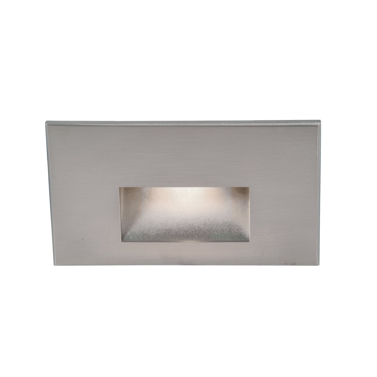 WAC Lighting WL-LED100F-C-SS 277V Horizontal Step Light, White 3000K by WAC Lighting
